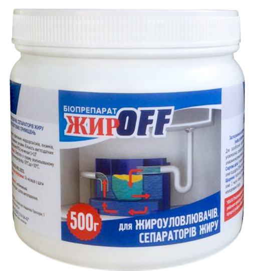 Biopreparation ZhirOff for splitting of fats