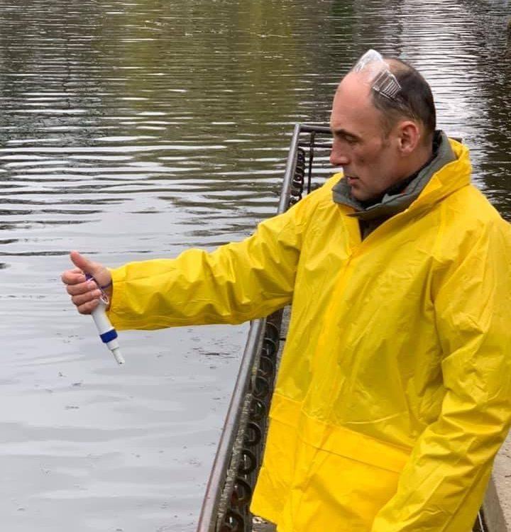 Очищення водойми