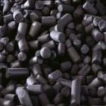 екструдоване активоване вугілля